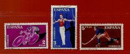 Espagne N° 993 - 995 - 996 - 1931-Aujourd'hui: II. République - ....Juan Carlos I