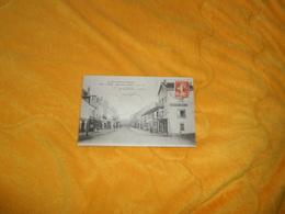 CARTE POSTALE ANCIENNE CIRCULEE DE 1915../ LURE.- RUE DE LA GARE....CACHET + TIMBRE - Lure