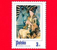 Nuovo - MNH - POLONIA - 1974 - Ragazzo Contadino, Dipinto Di Kazimierz Sichulski - 3 - 1944-.... Repubblica
