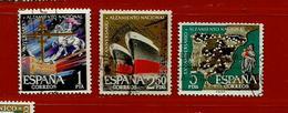 Espagne N° 1028 - 1032 - 1034 - 1931-Aujourd'hui: II. République - ....Juan Carlos I