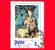 POLONIA - Usato - 1974 - Ragazzo Contadino, Dipinto Di Kazimierz Sichulski - 3 - 1944-.... Repubblica