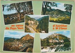 15 D'Aurillac à St-Flour - Cpm / Vues. - Aurillac