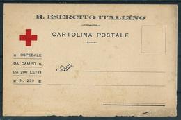 R.ESERCITO ITALIANO CARTOLINA POSTALE OSPEDALE DA CAMPO N. 239 - War 1914-18