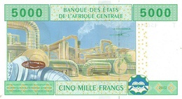 CENTRAL AFRICAN STATES P. 109Tb  5000 F 2006 UNC - Congo