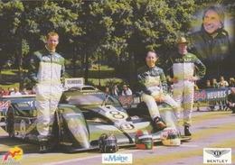 Team BENTLEY N°8 - Derek BELL. Et Ses Co-équipiers ..... - Le Mans