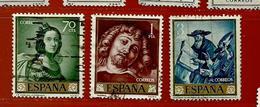 Espagne N° 1085 - 1087 - 1090 - 1931-Aujourd'hui: II. République - ....Juan Carlos I