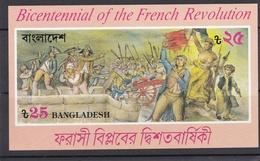 BANGLADESH  :  Bicentenaire De La Révolution Française  BF 15  Neuf XX - Franz. Revolution