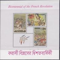 BANGLADESH :  Bicentenaire De La Révolution Française  BF 14 Neuf XX - Franz. Revolution