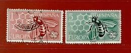 Espagne N° 1119 - 1120 - 1931-Aujourd'hui: II. République - ....Juan Carlos I