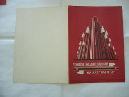 PAGELLA SCOLASTICA ONB GIL ANNO 1930-1931  MILANO - Diploma & School Reports