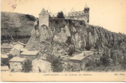 CPA - SAINT FLOUR - CHATEAU DU SAILHANS - Saint Flour