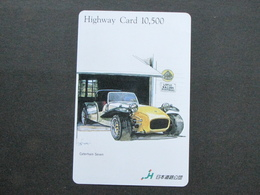 JAPAN HIGHWAY PREPAIDCARD - CAR LOTUS - Giappone