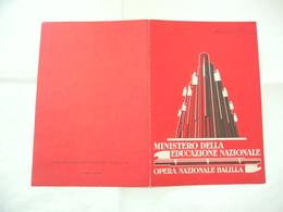 PAGELLA SCOLASTICA ONB GIL ANNO 1929-1930  MILANO - Diplomi E Pagelle