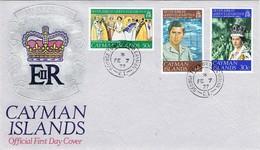 33006. Carta CAYMAN Islands (Georgetown) 1977,  Silver Jubilee Queen - Caimán (Islas)