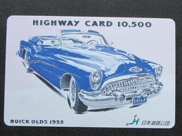 JAPAN HIGHWAY PREPAIDCARD - CAR BUICK OLDS 1953 - Giappone