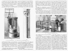 """CONDITIONNEMENT Et ESSAIS Des SOIES Et Matieres Textiles  """" LABORATOIRE De PARIS  """"  1900 - Technical"""