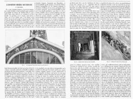 L'EXPOSITION MINIERE SOUTERRAINE Du TROCADERO à L'EXPOSITION UNIVERSELLE   1900 - Technical
