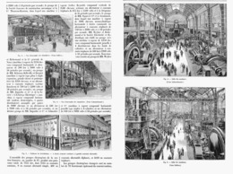 LA DISTRIBUTION De L'ENERGIE ELECTRIQUE  à L'EXPOSITION UNIVERSELLE DE  1900 - Autres