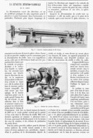 LA LUNETTE ZENITHO-NADIRALE De M. CORNU   1900 - Technical