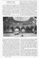LA SALLE Des FETES De  L'EXPOSITION UNIVERSELLE De  1900 - Technical
