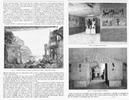 LE MONDE SOUTERRAIN  à L'EXPOSITION UNIVERSELLE DE  1900 - Technical