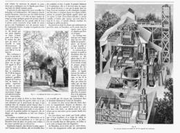 LE TRAITEMENT Du MINERAI D'OR  à L'EXPOSITION TRANSVAALIENNE DU TROCADERO   1900 - Technical