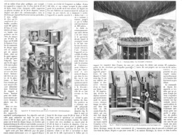 "LES  PANORAMAS  "" LE CINEORAMA BALLON  "" à L'EXPOSITION UNIVERSELLE DE  1900 - Fotografía"