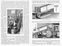 LES  RAMPES MOBILES  à L'EXPOSITION UNIVERSELLE DE  1900 - Technical