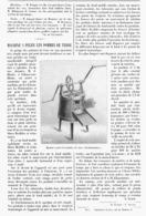 MACHINE  à PELER  LES POMMES DE TERRE  1900 - Technical