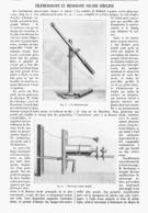 TELEMICROSCOPE Et MICROSCOPE SOLAIRE SIMPLIFIE   1900 - Technical