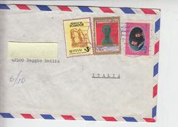 ECUADOR  1982 - Yvert  693-698-1022  - Lettera Air Mail Per Italia - Ecuador