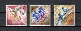 Guinea   1964  .-  Y&T  Nº   42/44   Aéreos - República De Guinea (1958-...)