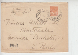 BRASILE  1932 - Raccomandata - - Storia Postale