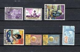 Guinea   1964-65  .-  Y&T  Nº   48-50-52/53-54/55-56   Aéreos - República De Guinea (1958-...)