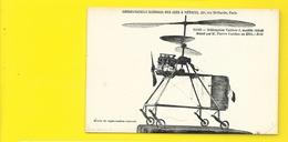 Rare Hélicoptère VUITTON 2 Au Conservatoire Des Arts Et Métiers à Paris (Bouchetal) - Hélicoptères