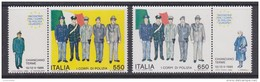 Italy 1986 Police 2v ** Mnh (42962) - 1946-.. Republiek
