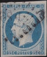 France   .    Yvert  .        10          .     O     .    Oblitéré   .   /   .     Cancelled - 1852 Luigi-Napoleone