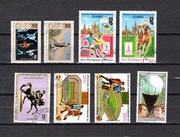 Guinea   1978-83  .-  Y&T  Nº   134/135-140/141-144-146/147-155   Aéreos - República De Guinea (1958-...)