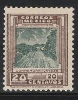 Mexico 1936 - Sc 727, 20cts - MNH - Mexico