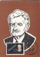 79272- HERMANN OBERTH, SCIENTIST, JET ENGINE, FAMOUS PEOPLE, MAXIMUM CARD, 1983, ROMANIA - Célébrités
