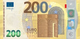 EURO FRANCE 200 U002 UB UC*01 UNC DRAGHI - EURO