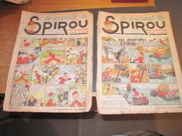 LE JOURNAL DE SPIROU - N°40 DU 03/10/1940 + N°45 DU 7/11/1940 - Spirou Magazine