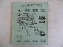 """(Sport - Cyclisme - 9è Tour De L'Avenir 1969...) - Livre Programme Détaillé,  """" LE GUIDE DES ETAPES """".......voir Scans - Cycling"""