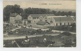 LANGRES - Les Nouveaux Abattoirs (vaches) - Langres