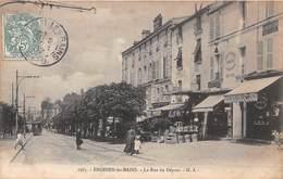 ENGHIEN LES BAINS - La Rue Du Départ - Enghien Les Bains