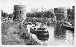 Photo De Tournai - Le Pont Des Trous Après La Guerre 40-45 - Guerra, Militares