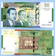 1430-2009 50 DIRHAMS 50ème Anniversaire De La Banque Al-Magrib - Maroc