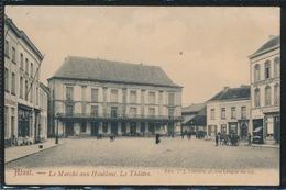 AALST   LE MARCHE AUX HOUBLONS  . LE THEATRE - Aalst