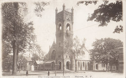 RPPC REAL PHOTO POSTCARD MALONE NY - Other