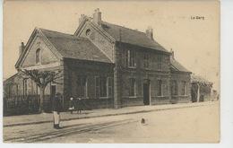 LE PLESSIS BELLEVILLE - ERMENONVILLE - La Gare - France
